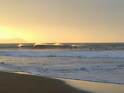 Taking the wave, Sopelana photo