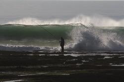 What are you doing fishing?, La Cabanita photo