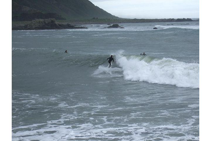 Tora-Bombora surf break