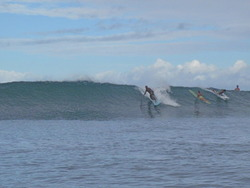 Classic day at Puaena Pt. Hawai'i, Puaena Point photo