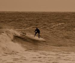 Late afternoon surf, Rhos-On-Sea photo
