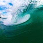Green curl, Maroochydore Beach