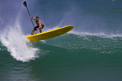 SUP a worthy foil to real surfing!, Ruapuke