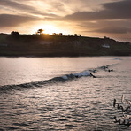 Inchydoney Surfer's Sunset