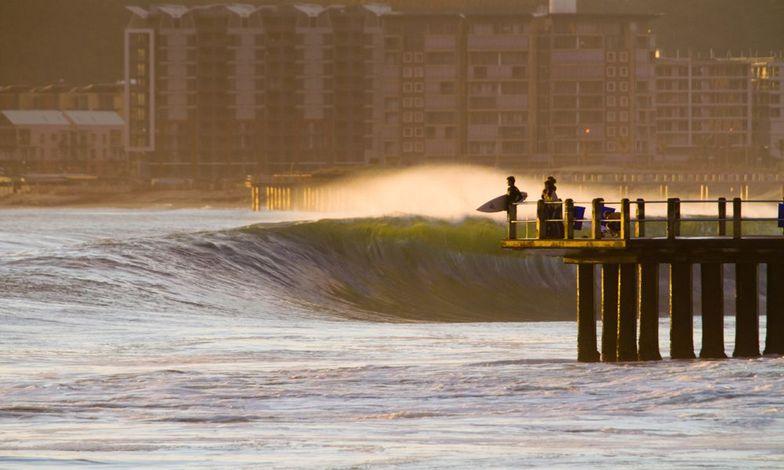 North Beach surf break
