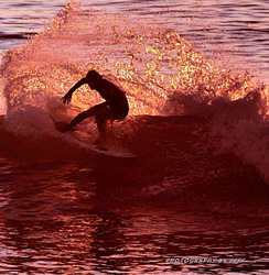 SUNSET SLASH, Pismo Beach Pier photo