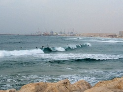Ashdod surfing at Hakshtot (the Marina), Hakshtot (Ashdod) photo