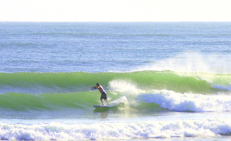Evans Head-South Wall surf break