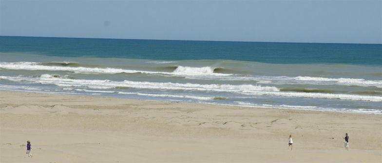 South Padre Island surf break