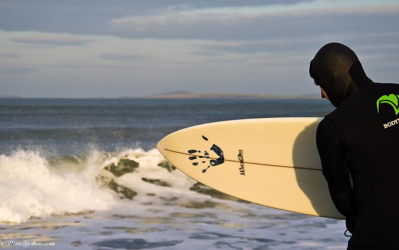 ready to surf, Strandhill