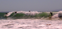 Finally Big Wave!, Topanga Point photo