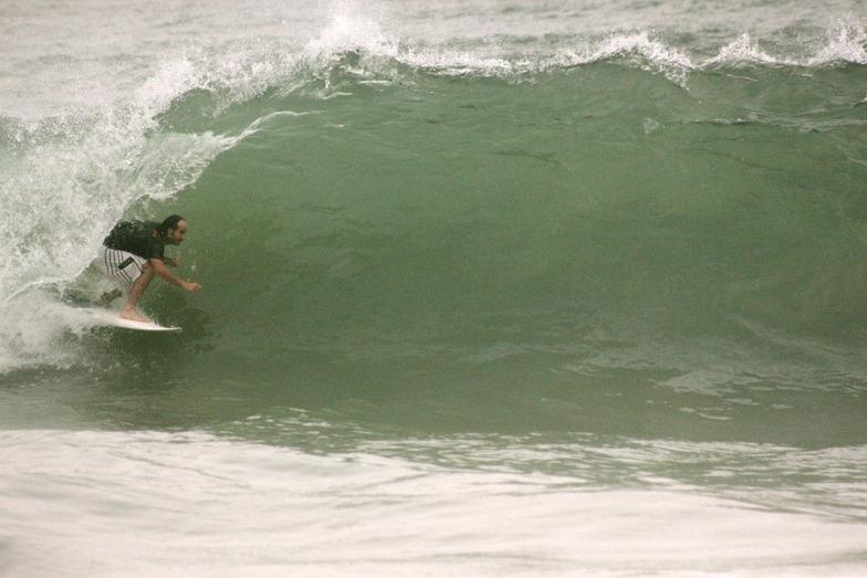 Marina Grande surf break