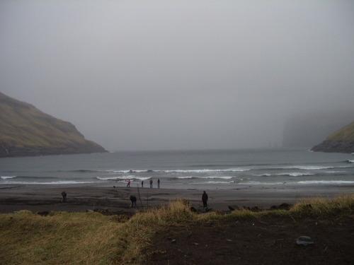 Tjornuvik `chat na vick` beach break, Tjornuvik Bay (Streymoy)