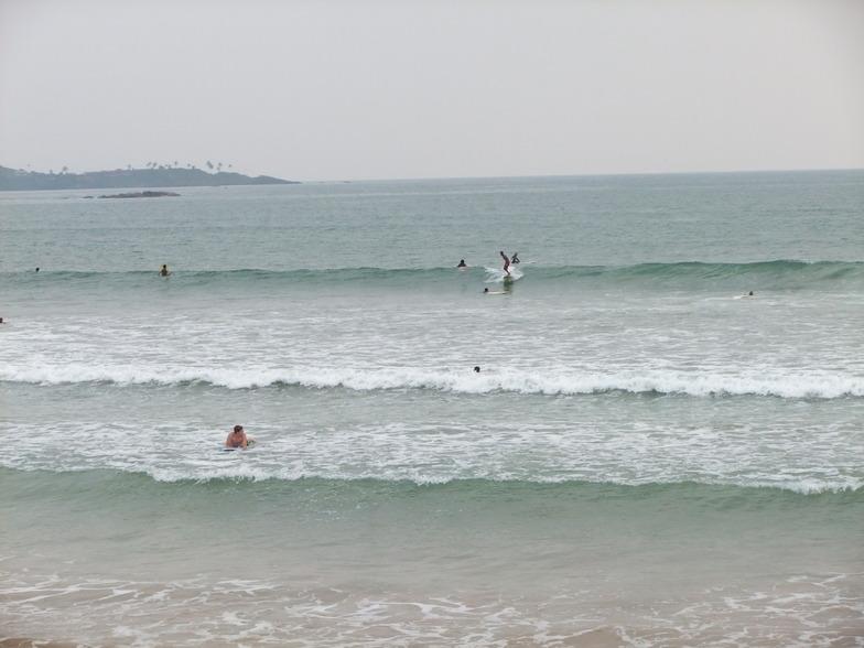 Weligama surf break