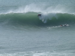 Sunday Surfers, Porthleven photo