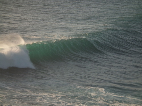 Big day and a little bumpy, Whites Reef