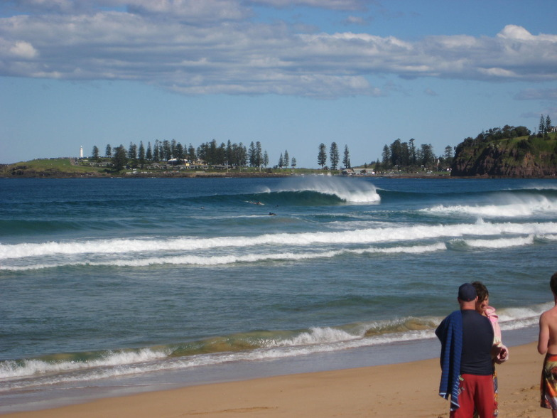 Bombo Beach surf break