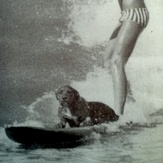 Rick Field & Simba  1967, Summerstrand Beach