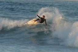 Surfing in Gouritsmond, Gourits Mouth