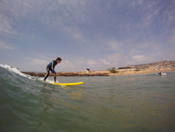 Surfing at Devils Rock Morocco, Devil's Rock photo
