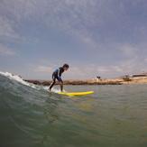 Surfing at Devils Rock Morocco, Devil's Rock