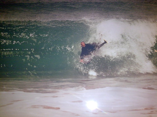 Boomers drop, Boomer Beach