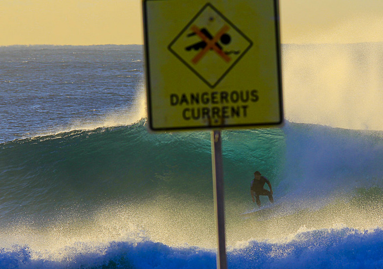 Dangerous Current, Bronte Beach