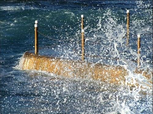 High tide, Malabar