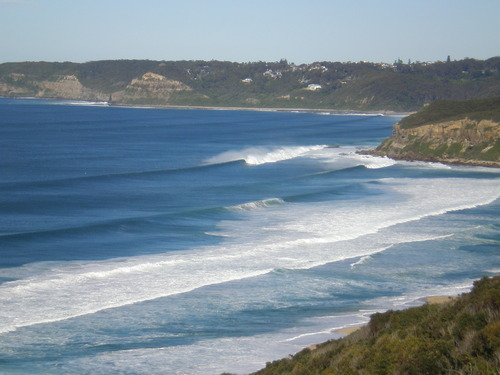 leggy point in a really large swell in July `11