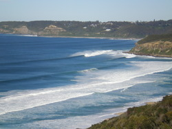 leggy point in a really large swell in July `11 photo