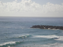 D`bah on a quiet day, Christmas holidays, Duranbah photo