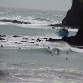 south end medlands beach / big SE swell