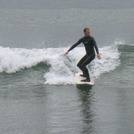 surfer Lehinch (Lahinch)Ireland, Lahinch Strand