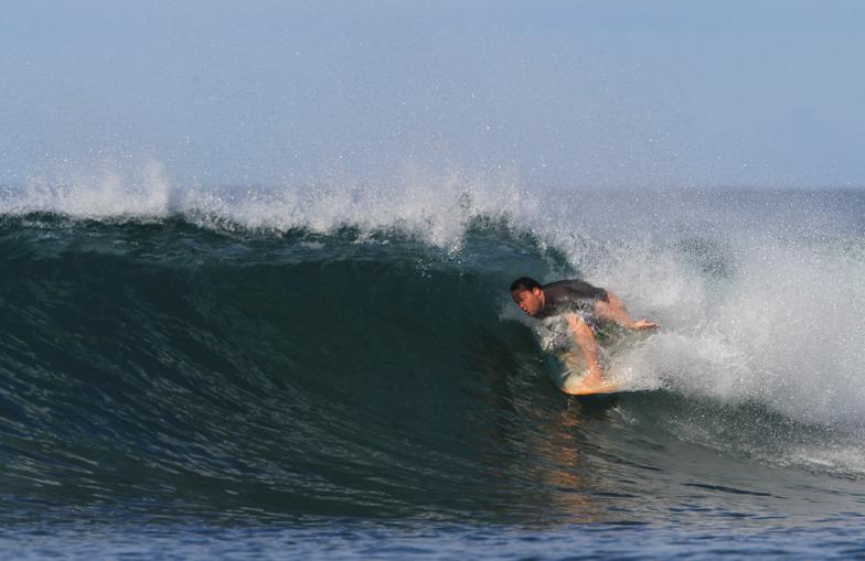 on the nose, Playa Negra