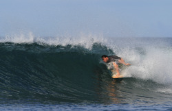 on the nose, Playa Negra photo