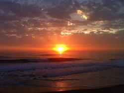 Amorosa sunset, Praia da Amorosa photo