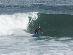 bottom turn, Punta Rocas photo