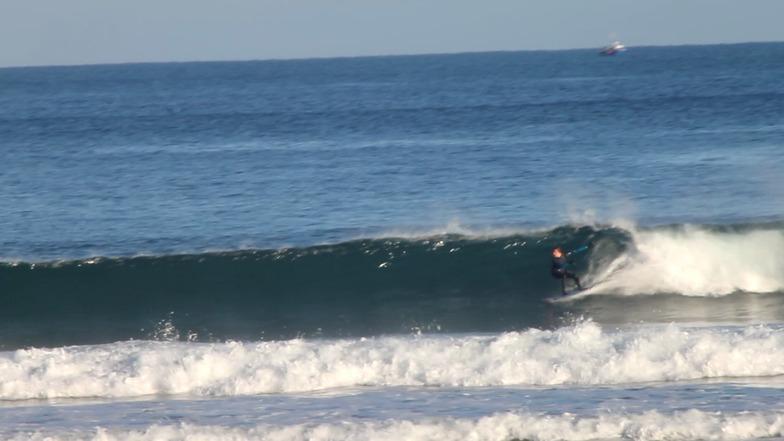 Playa de Laga surf break