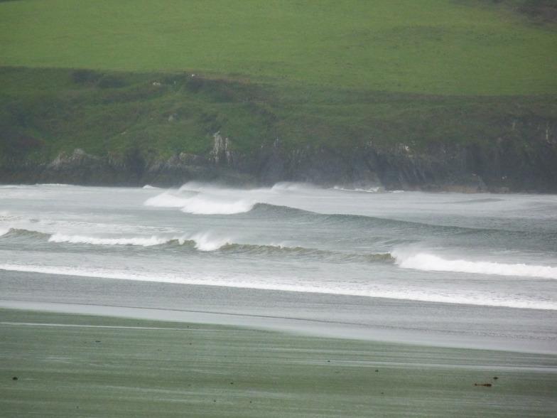 Newport surf break