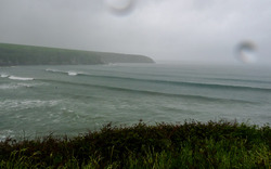 Abermawr summer surf photo