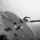OB Jetty - Chris Racan Off the lip, Ocean Beach Jetty