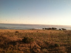 Envy of the CA Coast: Lone house, private land, INSANE RIGHT POINTBREAK, Government Point photo