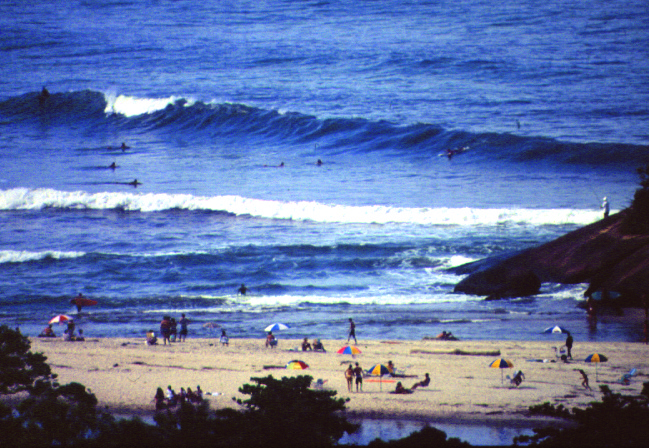 Itamambuca surf break