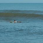 morning surf at Tg Aru, Tanjung Aru Beach
