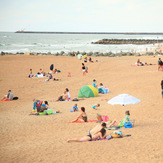 Sand, People, Rocks and Water, Anglet - Marinella