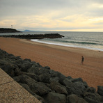 Lone Sunset Light, Anglet - La Piscine
