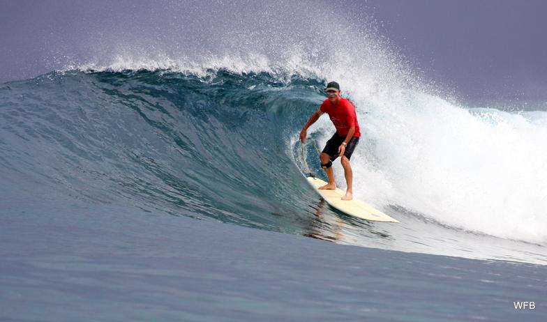 Nusa surf break