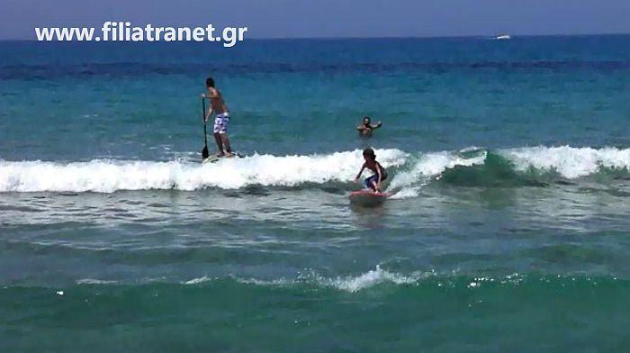Lakouvardos or Lagkouvardos surf break