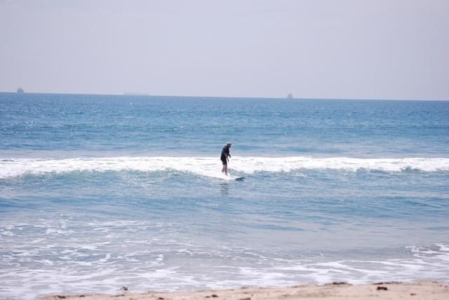 Bolsa Chica surf break