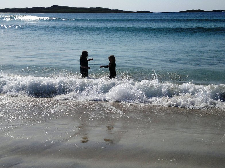 Hogh Bay (Coll) surf break